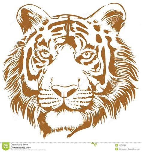 tiger template printable 17 best images about wood burning on scroll