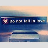 Do not fall in ...