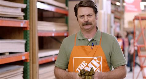 awesome new home depot commercial starring nick offerman