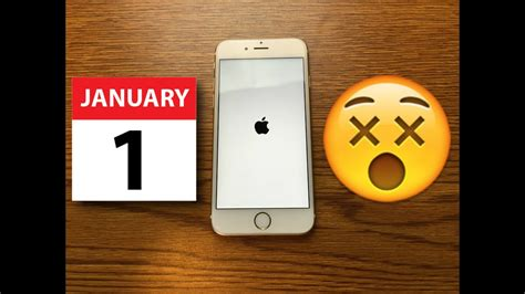 don t set your apple iphone s date to january 1 1970 this ios 11 hack will crash your iphone 8