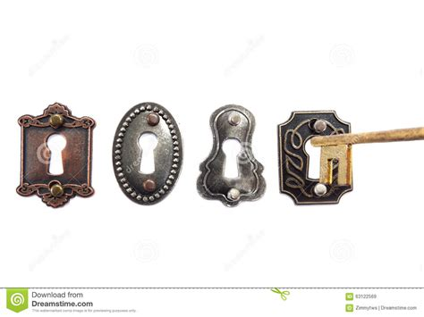 old fashioned locks and key stock photo image 63122569