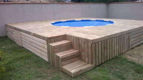 Raised Garden Bed Base - pallet outdoor swimming pool 101 pallets