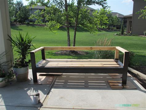 diy outdoor couch diy outdoor furniture outdoor couch