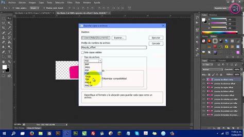 tutorial photoshop cs6 en pdf guardar exportar capas de photoshop cs6 por separado jpg