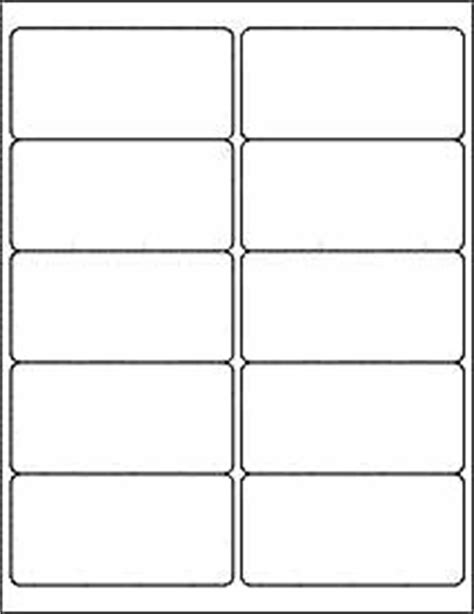 2x4 label template 6 sheets 60 2x4 inch matte white stickers