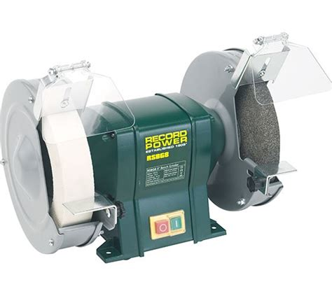 record bench grinder record power machines 8 quot bench grinder with 40mm white