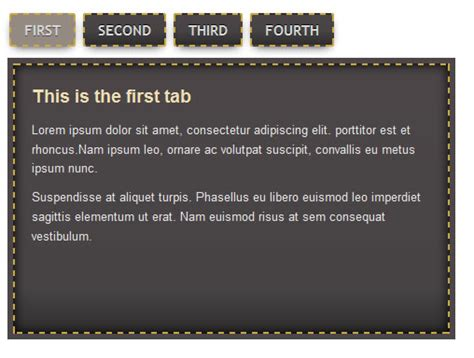 css tutorial tabs how to create a css3 tabbed navigation