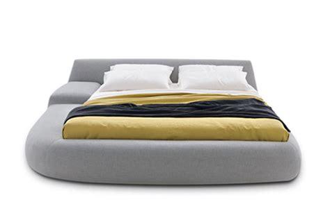 french fry headboard italian designer beds asymmetrical bed bug by poliform