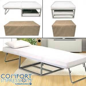 Guest Bed Costco Sleep Innovations 174 B O B Bed Ottoman Bench Memory Foam