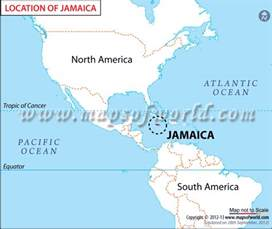 Jamaica On World Map by Maps Map Jamaica