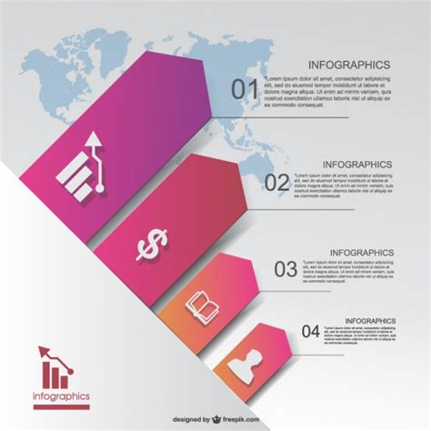 template vector business vector infographic template vector free