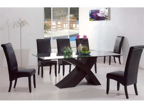 bloombety discount dining room sets with leather seats