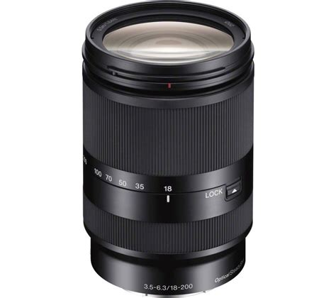 Sony E 18 200mm F 3 5 6 3 Oss Le sony e 18 200 mm f 3 5 6 3 oss le telephoto zoom lens