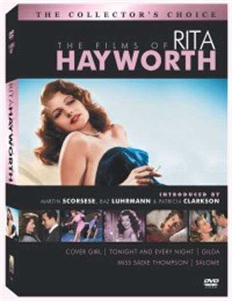 cover girl 1944 classic movie review the films of rita hayworth dvd review the collector s