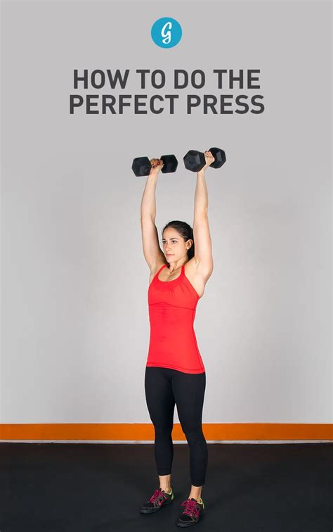how to do the perfect bench press best 25 overhead press ideas on pinterest dumbbell