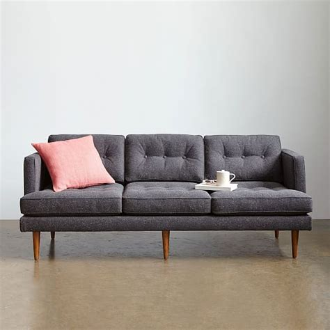 west elm peggy sofa peggy mid century sofa 79 5 quot west elm