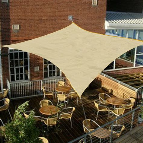 sail canopy awning palm springs 3 5m square sail shade sun garden patio