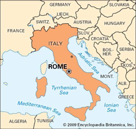 rome italy map rome encyclopedia children s homework help dictionary britannica