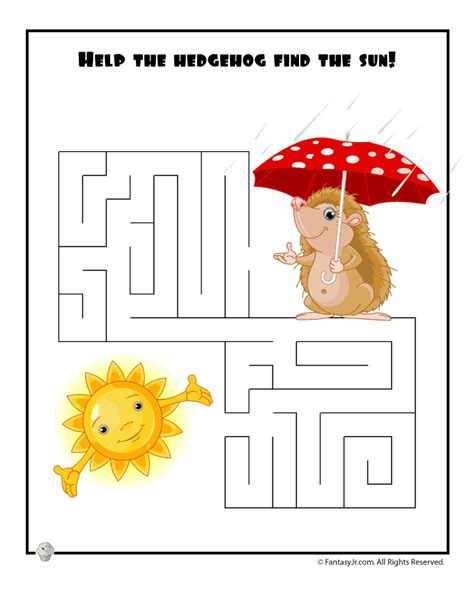printable spring maze free coloring pages of spring mazes
