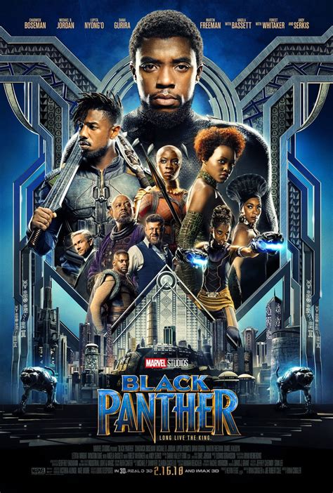 film marvel black panther marvel s black panther gets a new movie trailer