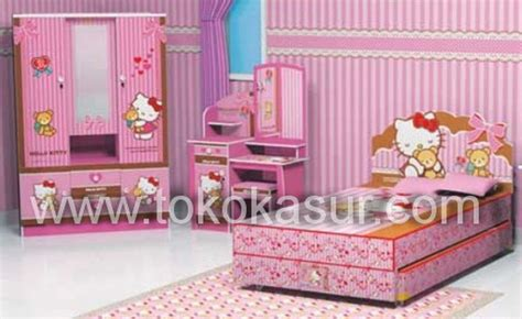 Seprai Single 2in1 Tenorikuma 120x200 kamar set anak toko furniture simpati