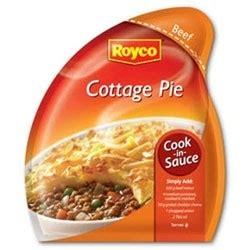 Sauce For Cottage Pie by Royco Cook In Sauce Cottage Pie 41g Sachet Saproducts