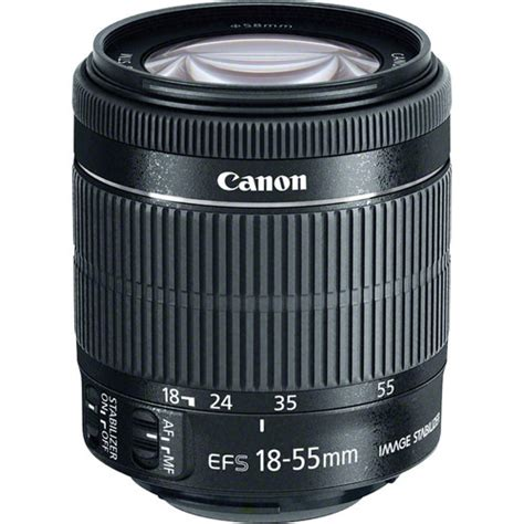 Ew60 C For Canon 18 55mm F3 5 5 6 Canon 18 55mm F 3 5 5 6 Is Stm Lens White Box 8114b002wb B H