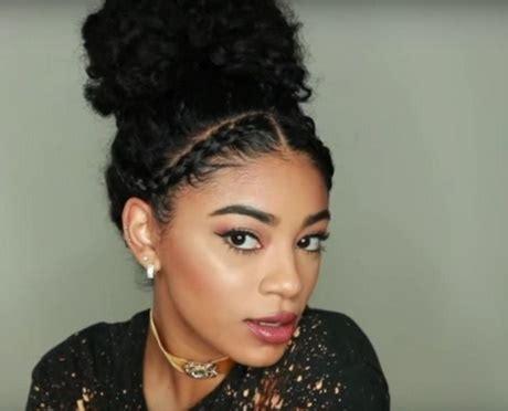 hairstyles for curly hair daily cute everyday hairstyles for curly hair