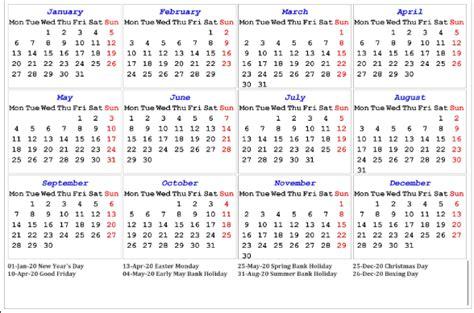 printable uk public holidays  calendar templates