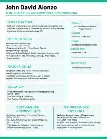 latest resume format 2017 for freshers download