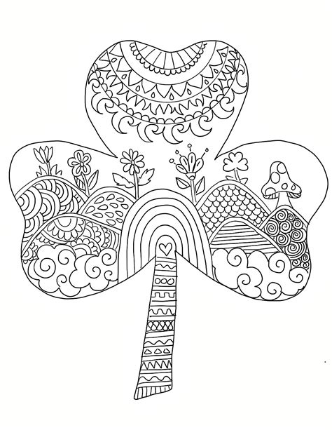 coloring pages for adults st patrick s day 88 coloring pages for adults st patricks day st