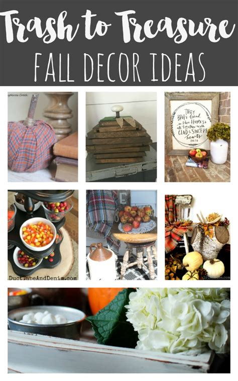 trash to treasure ideas home decor trash to treasure totally free fall front porch ideas reinvented