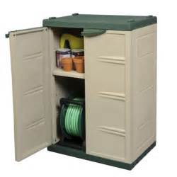 Plastic Outdoor Storage Cabinet Mini Compact Plastic Garden Shed Store Storage Cabinet Garden Shed Green Beige Trading
