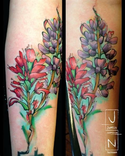 indian paintbrush tattoo blue bonnets indian paintbrush ideas