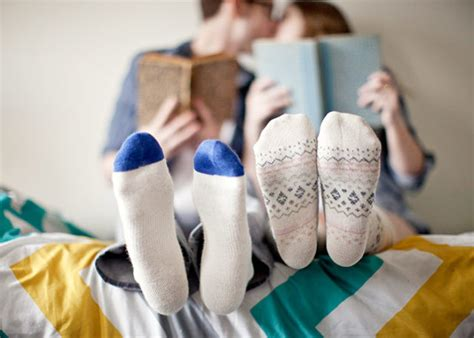 wearing socks to bed wearing socks in bed is apparently the answer to having