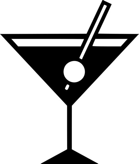 martini clip art png coctail martini party nightlife glass wine svg png icon