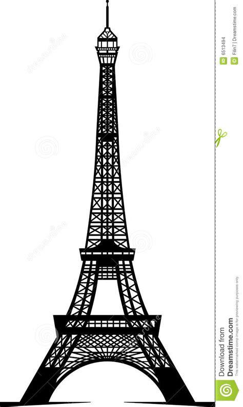 imagenes a blanco y negro de la torre eiffel torre eiffel imagenes de archivo imagen 6513494