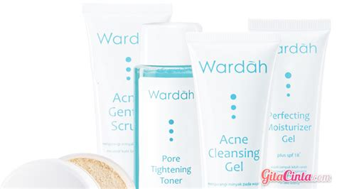 Bedak Wardah Series Wardah Acne Series Gitacinta