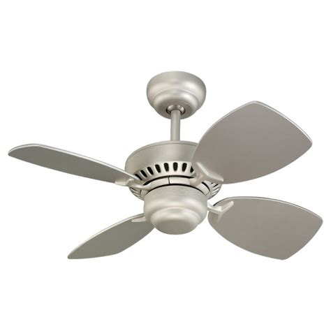 28 ceiling fan with light monte carlo 4co28bk black four blade 28 quot mini indoor