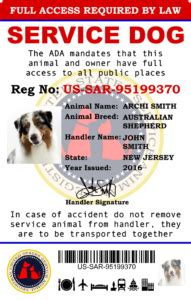 how to register your as a service animal how to register service now 2017 us service animal registrar