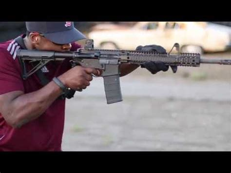 ar 15 shooting review daniel defense ddm4 v1 gun videos