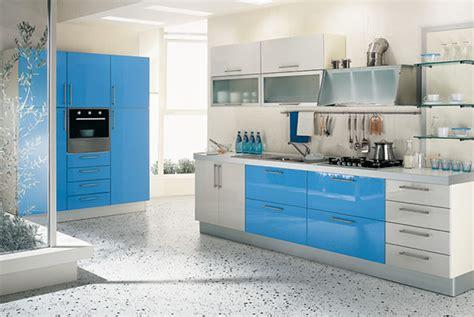 blue color kitchen interior design ideas home office kiwistudio idei de amenajare pentru bucatarii mici