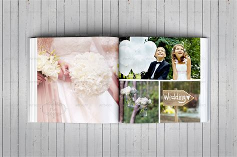 wedding album templates free square wedding photo album template by dogmadesign