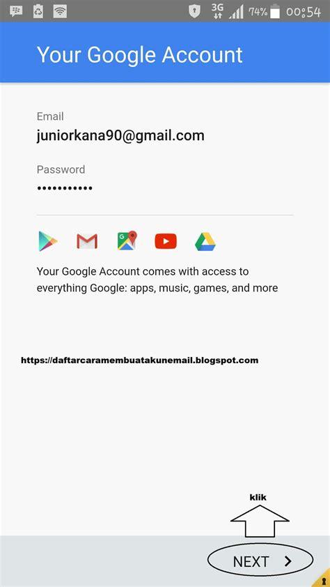 cara membuat akun google play game cara daftar akun playstore terbaru di semua hp android