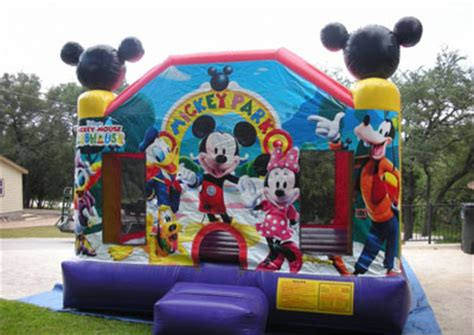 mickey mouse, bouncer, inflatable, bounce house, moonwalk