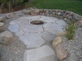 Flagstone Firepit Pits Landscape Company In Western Cities Metro Area Minnesota