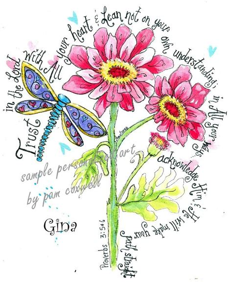 flowers doodle god fromtheheartart pamcoxwelldesignsthe lord daisies