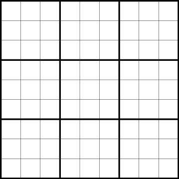 6 best images of printable sudoku template blank sudoku