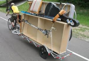 bicycle cargo. chapter 2: bike trailers : treehugger