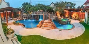 Amazing Backyards With Pools Photos Hgtv